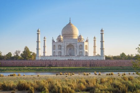 Photo for Taj Mahal in Agra, India - Royalty Free Image