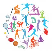 Sport action Illustration Collection