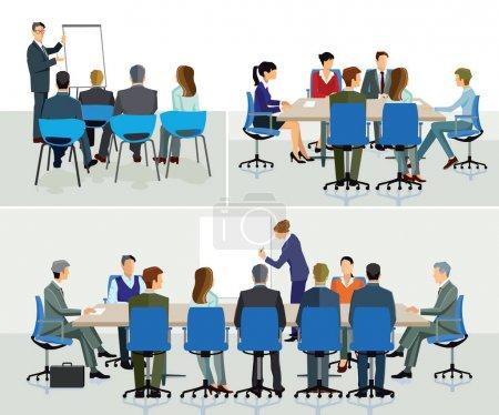 Business seminar and speaker