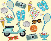 Summer holidays Tourism, leisure concept
