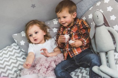 Cute couple of kids