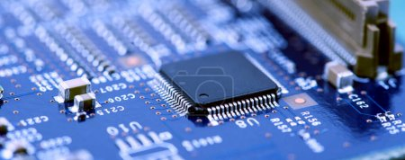 Photo for High Tech Circuit Board - Royalty Free Image