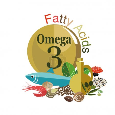 Products with fatty acids