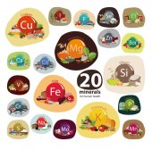 20 Minerals in food