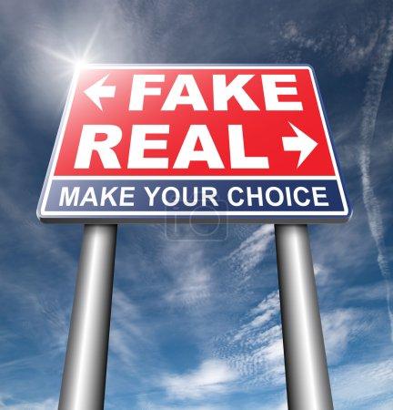 fake or real road sign