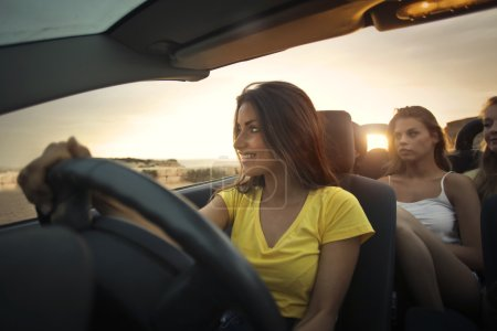 Women in the car