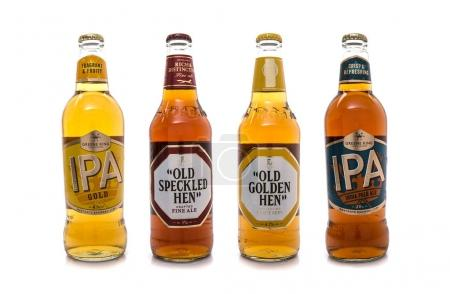 Selection Beers from Greene King