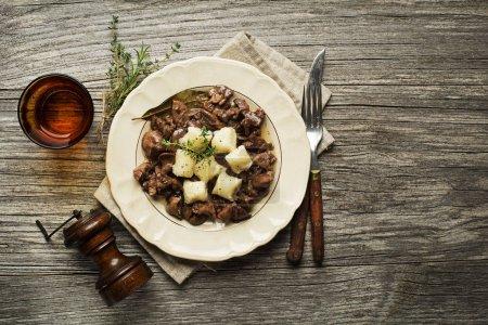 Liver food meal