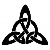 Celtic knot stencils for tattoo or another design Vector