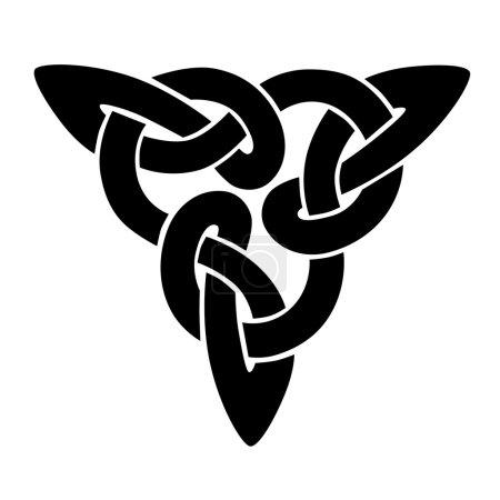 Simple design element. Celtic knot....