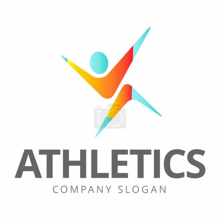 Sports and fitness logo graphics.