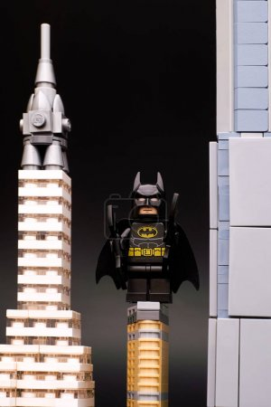 Lego Batman in New York City