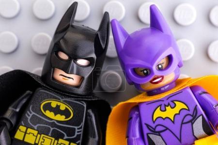 Lego Batman and Batgirl