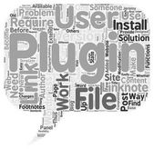How To Use Linknotes Plugins text background wordcloud concept