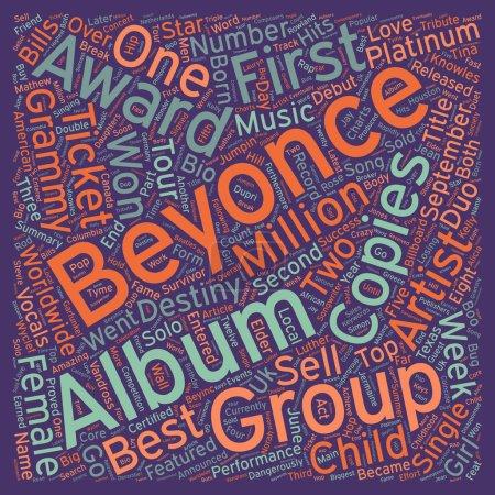 Music Artist Beyonce Bio text