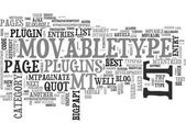 BEST MOVABLETYPE PLUGINS TEXT WORD CLOUD CONCEPT