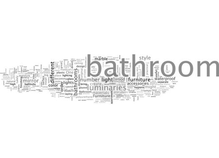 Illustration for Bathroom From Over The Moon Part Two - Royalty Free Image
