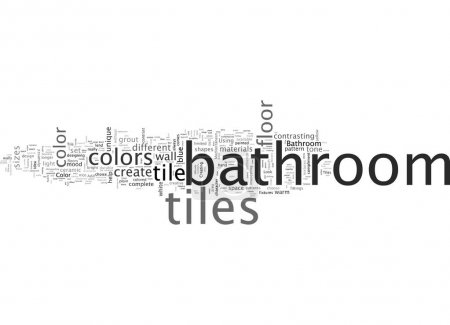 Illustration for Bathroom Tiles And The Best Bathroom Design Ideas - Royalty Free Image