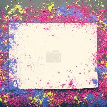 Closeup of Indian Holi colors
