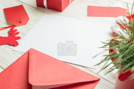 paper card with red envelope