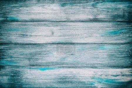 Old blue wooden wall background