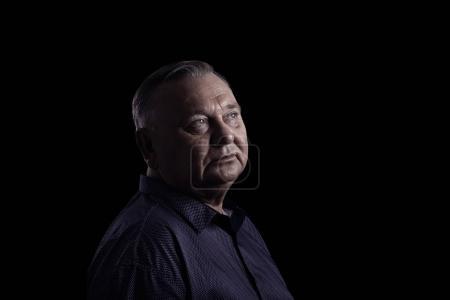 Mature man portrait