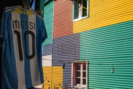 The Argentine shirt of Lionel