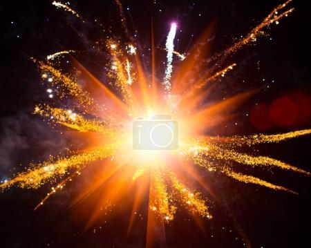 Photo pour Salut bokeh brillant fond éblouissant - image libre de droit
