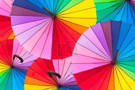 Photo pour Abstrait de parapluie multicolore - image libre de droit