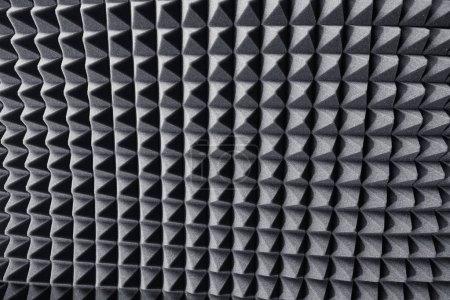 Foto de Amortiguador acústico de espuma para malgastar el sonido de fondo - Imagen libre de derechos