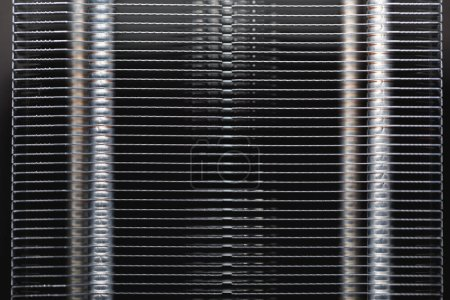 Photo for Heat sink of cpu cooler, close-up view - Royalty Free Image