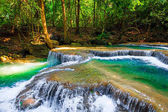 The beautiful waterfall in deep forest