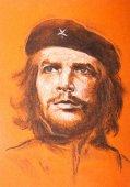 Ernesto Che Guevara. Hand drawn portrait
