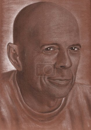 Poster: Bruce Willis talented actor artistic