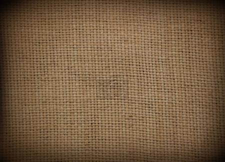 Sackcloth fabric background