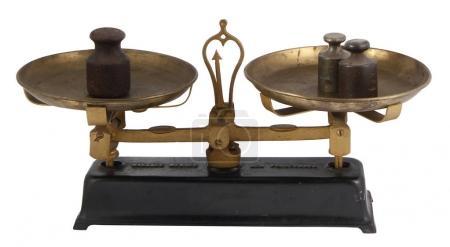 Old vintage scales