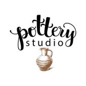 Pottery studio logo