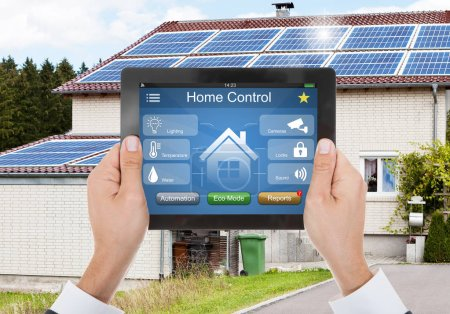 Home Control On Tablet