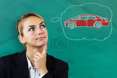 Предприниматель Думает Покупать Автомобиль