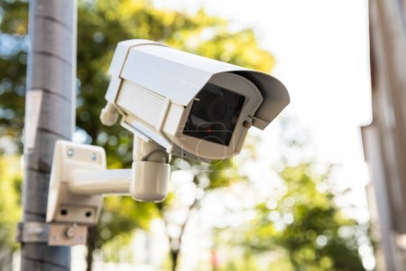 Security Camera On Street
