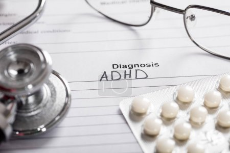 text Diagnosis ADHD