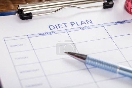 Diet Plan Form