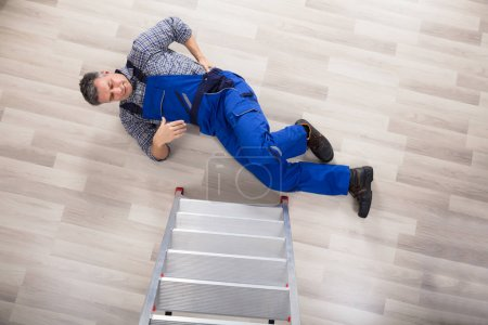 Repairman Fallen From Ladder