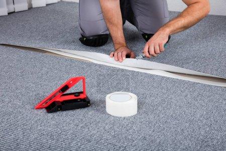 Carpenter Lying Carpet