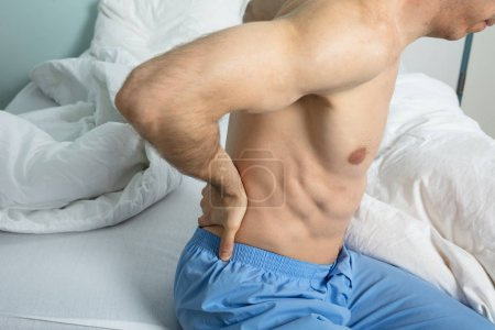 Man With His Back Pain
