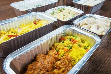 Meals In Take Away Containers
