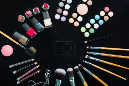 Makeup Brushes And Makeup Products