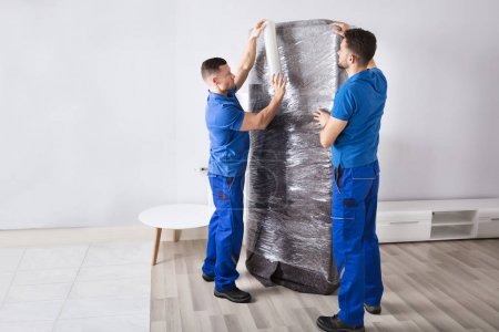 Movers Packing Furniture