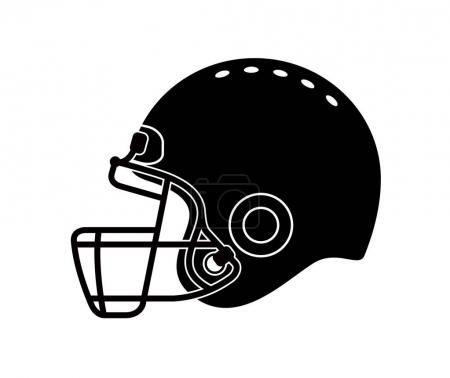 football helmet illustration