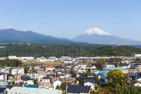Mountain Fuji in Shizuoka city